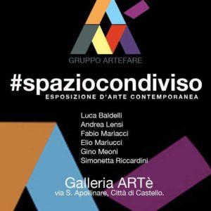 #spaziocondiviso ESPOSIZIONE D'ARTE CONTEMPORANEA