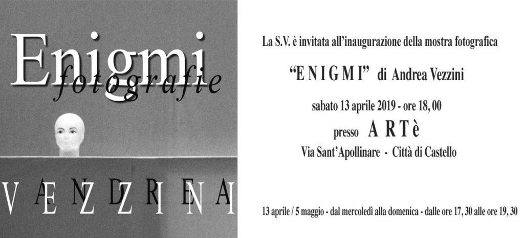 Enigmi mostra fotografica di Andrea Vezzini