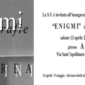"""Mostra fotografica """"ENIGMI"""" di Andrea Vezzini"""