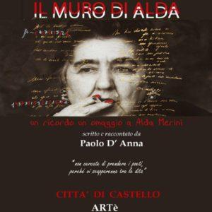 Il muro di Alda-presentazione libro di Paolo D'Anna