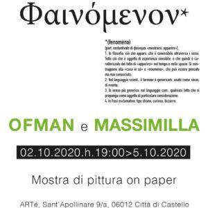 OFMAN &MASSIMILLA-Mostra